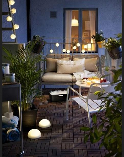 Como decorar un balcon pequeño