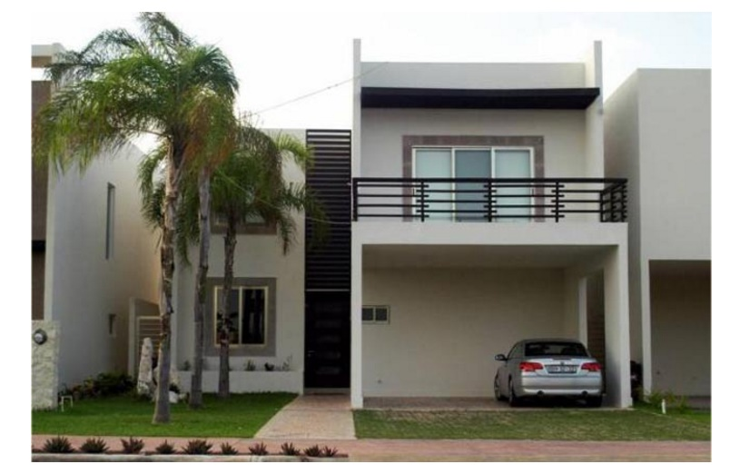 Dise os de casas modernas for Disenos de casas de dos pisos pequenas