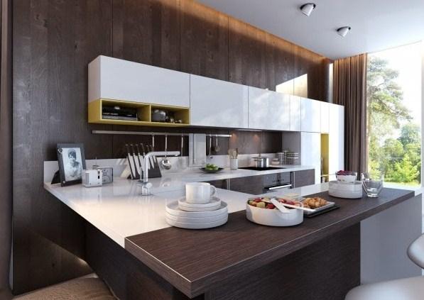 Ejemplos de cocinas modernas