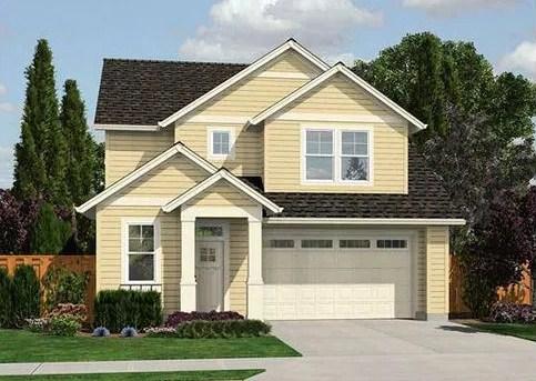 Plano de casa con tejas asf lticas for Fotos de casas modernas con techo de tejas