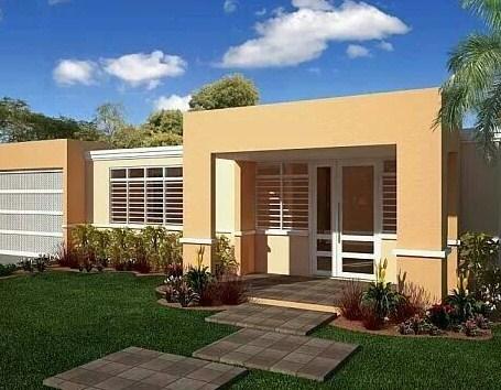 Fachadas de casas con rejas blancas horizontales