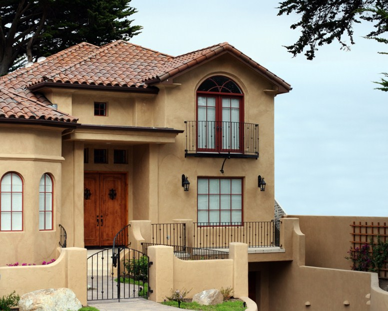 Fachadas de casas con rejas bonitas