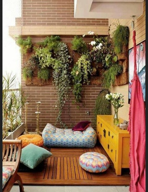 Patio lighting decor - Ideas Para Decorar Balcones Y Terrazas