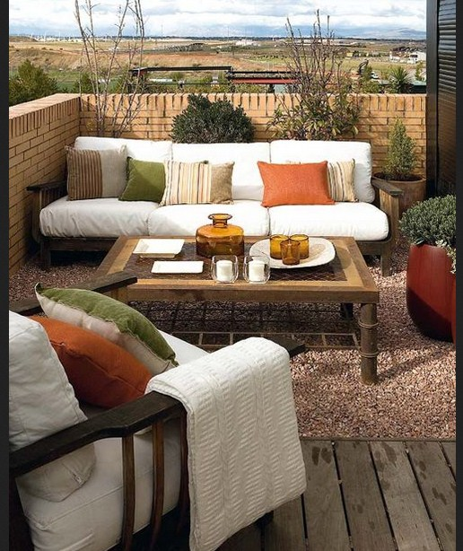 Ideas para decorar balcones y terrazas for Terraza para balcon