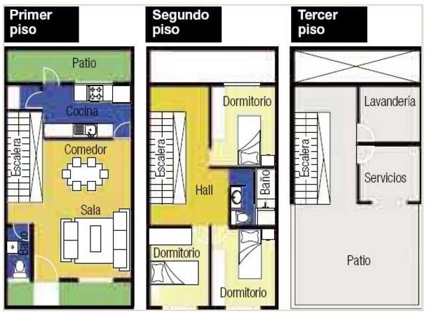 Modelos de casas con planos for Modelos de planos de casas