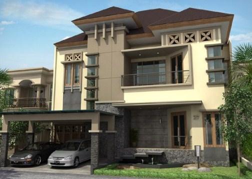 Fachadas de casas con molduras planos de casas modernas - Molduras para fachadas ...