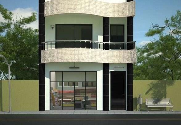 local comercial planos de casas modernas