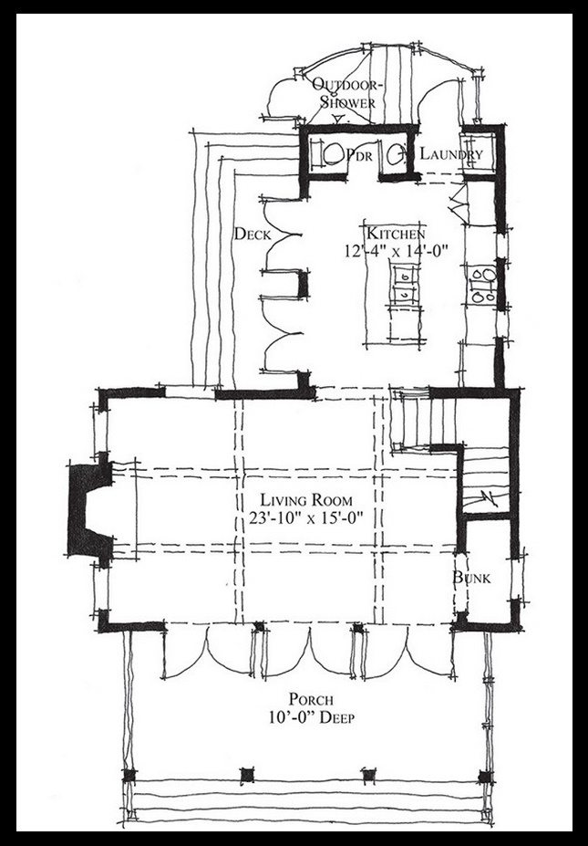Casa de campo planos de casas modernas - Planos de casas de 100 metros cuadrados ...