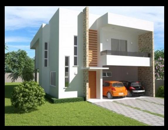 Imagenes de casas modernas planos de casas modernas for Planos de viviendas modernas