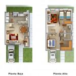 Plano de duplex sin cochera