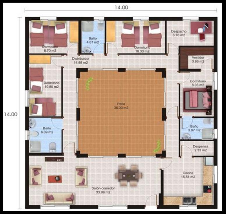 Planos de casas para construir planos de casas modernas for Planos de casas de un piso gratis