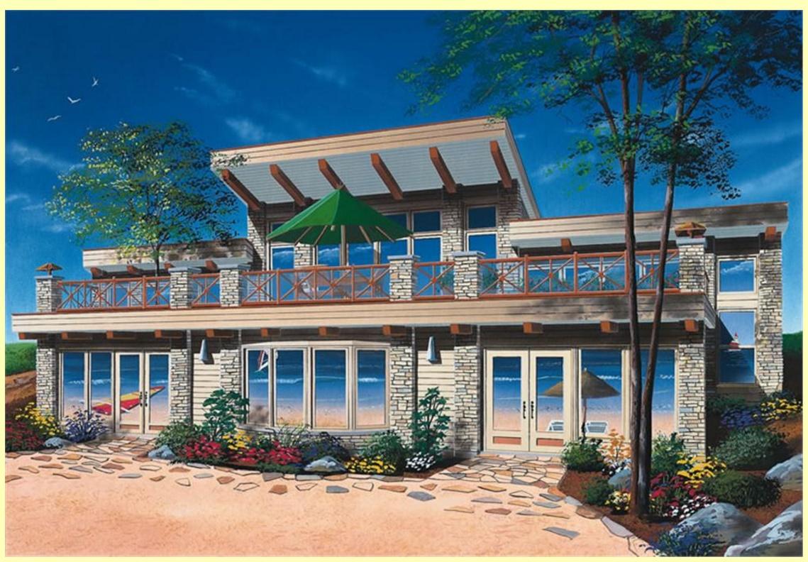 Viviendas modernas fabulous casa con un amplio frente y for Viviendas modernas fachadas