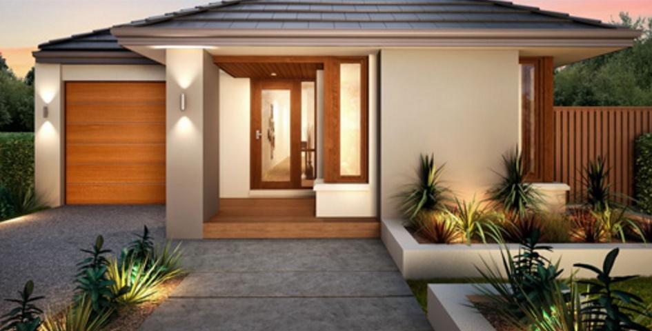 4 dormitorios planos de casas modernas On estilos de casas para construir