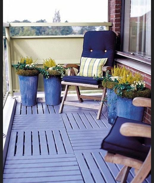 Ideas para decorar balcones planos de casas modernas for Sillones de balcon