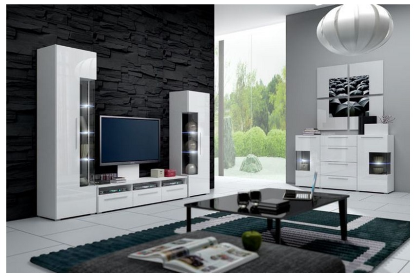 Ideas para decorar un living for Decorar mueble de salon moderno