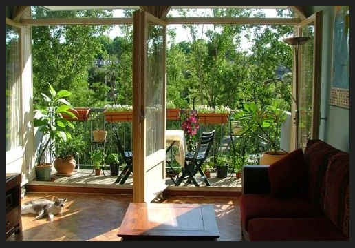 Ideas para decorar balcones y terrazas - Decoracion de balcones con plantas ...