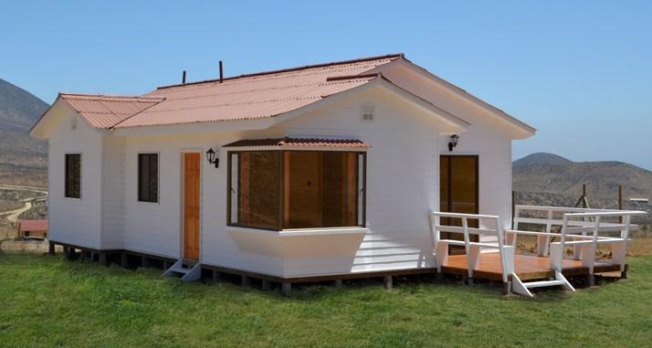 Casa prefabricada de 3 dormitorios