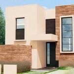 Plano de casa con 3 dormitorios en la planta alta