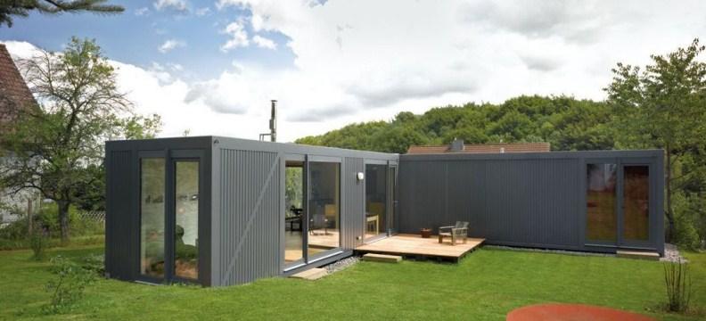 Plano de casa con contenedores planos de casas modernas for Modelos planos de casas para construir