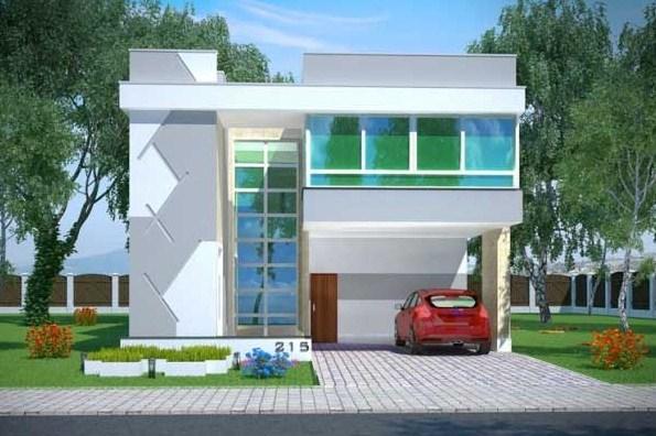 planos de casas modernas minimalistas gratis