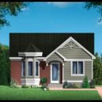 Plano de casa de 2 dormitorios con medidas