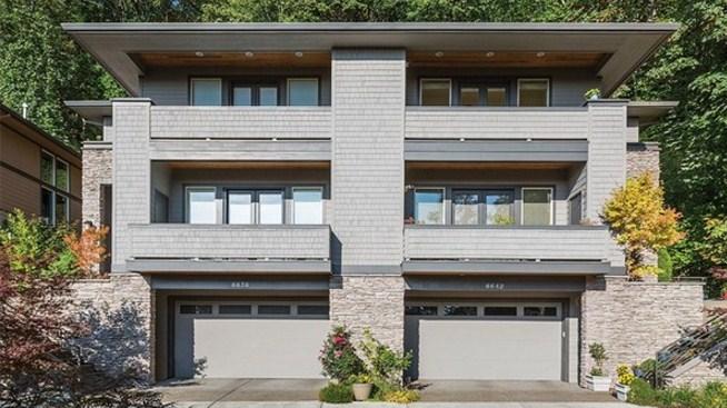 Garaje doble planos de casas modernas for Fachadas de casas de 3 pisos modernas