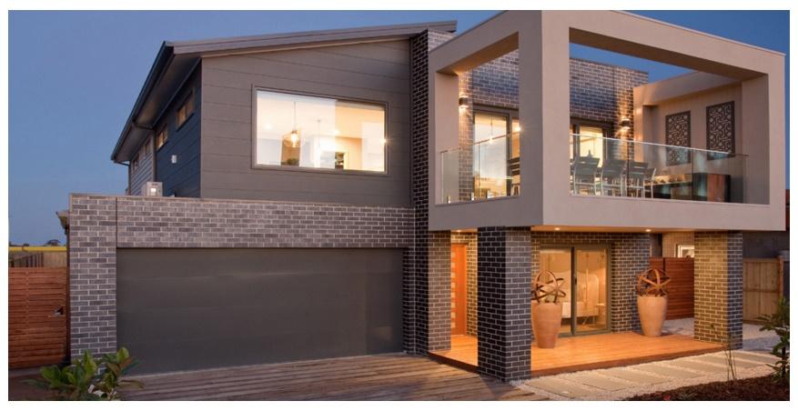Planos de casas de 2 plantas for Planos de casas minimalistas de 2 pisos