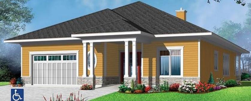 Estilo americano planos de casas modernas for Estilos de casas modernas