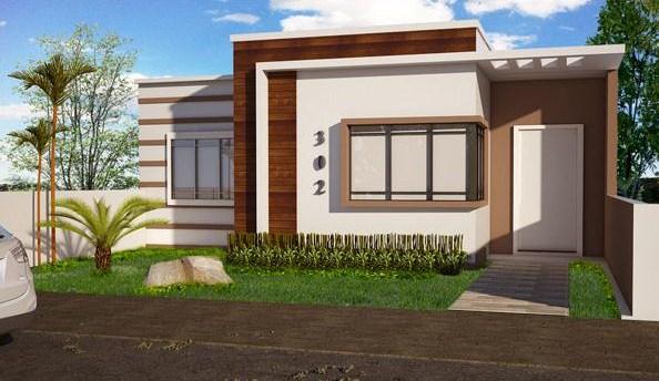 Plano de casa tres dormitorios una planta - Planos de casas modernas de una planta ...