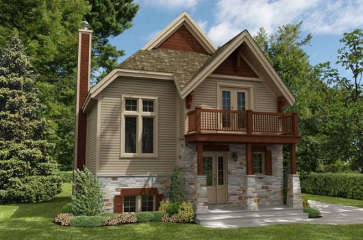 Planos de casa cl sica de dos plantas for Planos de casas campestres de dos plantas