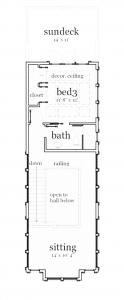 Planos de casa de playa estilo Bungalow