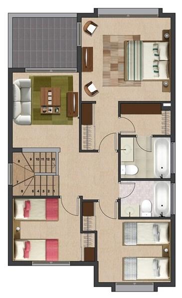 Planos de casas argentina for Planos de casas de 2 plantas