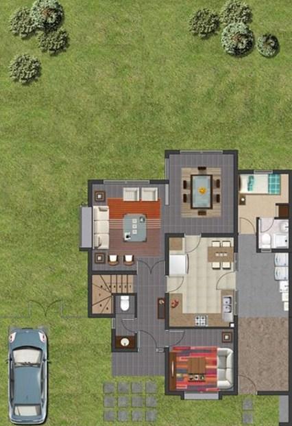 Planos de casas argentina for Casa argentina