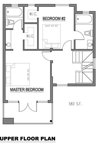 Planos departamento moderno de 150 mt2