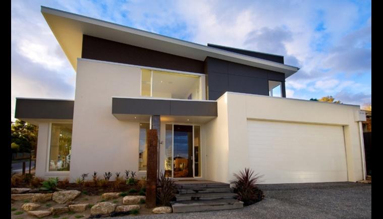 Casas Modernas Para Construir Of Plano De Casa Moderna De 3 Dormitorios