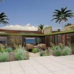 Plano de casa para la playa, moderno y de 3 dormitorios