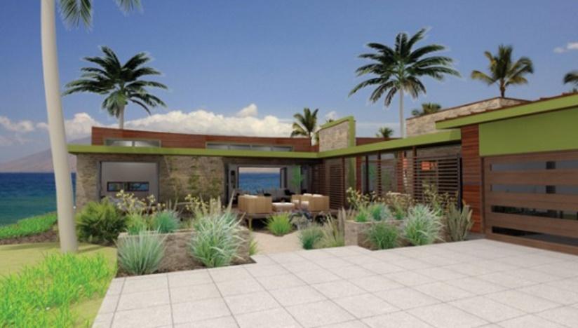 casa para la playa, moderno y de 3 dormitorios