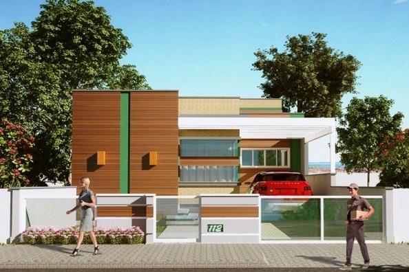 Lavadero planos de casas modernas for Casa moderna de 70 metros cuadrados
