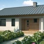 Plano de casa de 90 m2