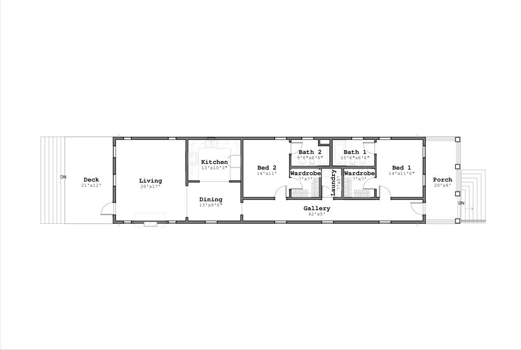 plano de casa tipo bungalow2