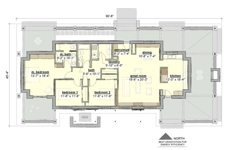 plano de casa tipo rancho moderno2