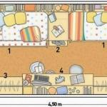 Plano de casa para niños