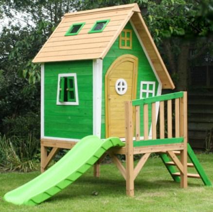 Como hacer una casa de madera para ni os planos de casas for Galpon de madera para jardin