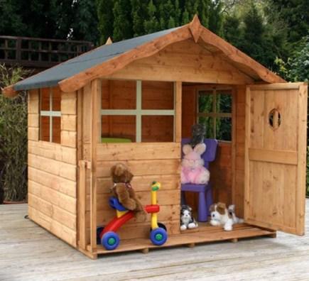 Como hacer casitas de madera para niños