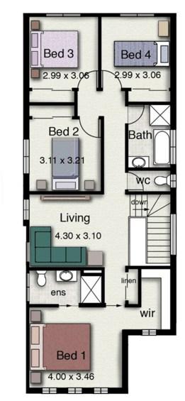 Modelo de casa minimalista