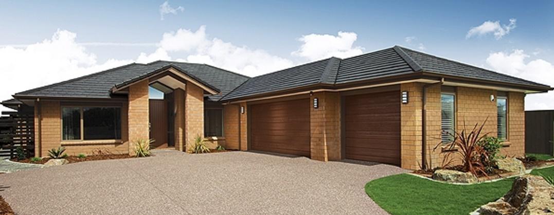 Cochera triple planos de casas modernas - Modelos de casas de una planta ...