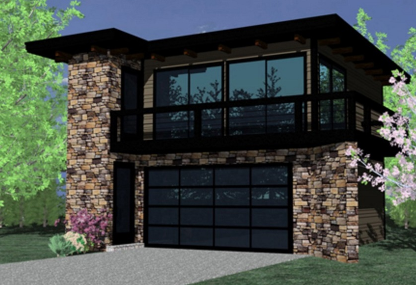 Plano de casa peque a y bonita planos de casas modernas - Casas de 50 metros cuadrados ...