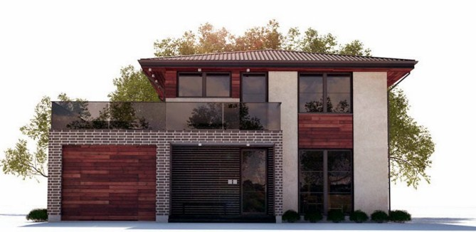 Modelos de casas de dos pisos gratis