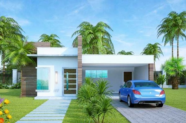 Image gallery modelos de casas modernas for Planos para casas de un piso