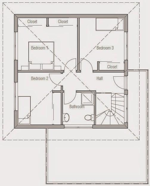 Planos de casas de dos pisos con cochera gratis